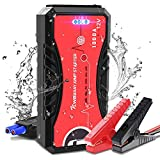 NWOUIIAY Car Jump Starter 12V 1000A Peak 13200mAh Portable Battery Booster for up