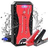 NWOUIIAY Booster Batterie Voiture Etanche 1000A 13200mAh Chargeur Démarreur de Voiture (6 L de...