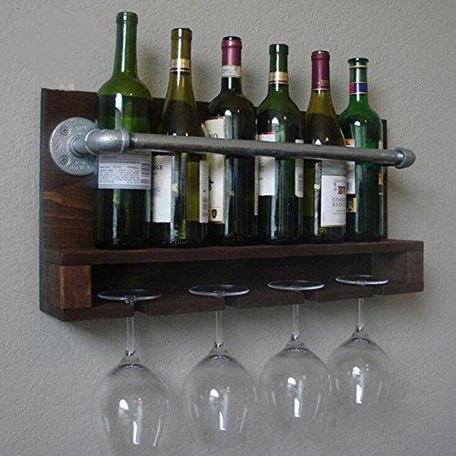 WXQIANG Botellero multiusos para copas de vino, tubo de agua industrial duradero y protector (tamaño BPDCCWW)
