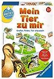Ravensburger 24731 - Mein Tier zu mir - Puzzelspiel für die Kleinen - Spiel für Kinder ab 1 und 1/2 Jahren, Spielend erstes Lernen für 1-4 Spieler -