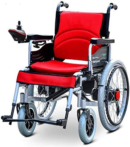 De peso ligero plegable sillas de ruedas eléctrica Silla de ruedas, Silla...