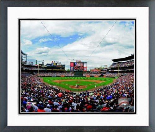 MLB Atlanta Braves Turner Field Stadium Photo 12 5 x 15 5 Framed product image
