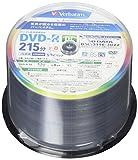バーベイタムジャパン(Verbatim Japan) 1回録画用 DVD-R DL CPRM 215分 50枚 片面2層 2-8倍速 VHR21HP50V1FFP フラストレーションフリーパッケージ(FFP)