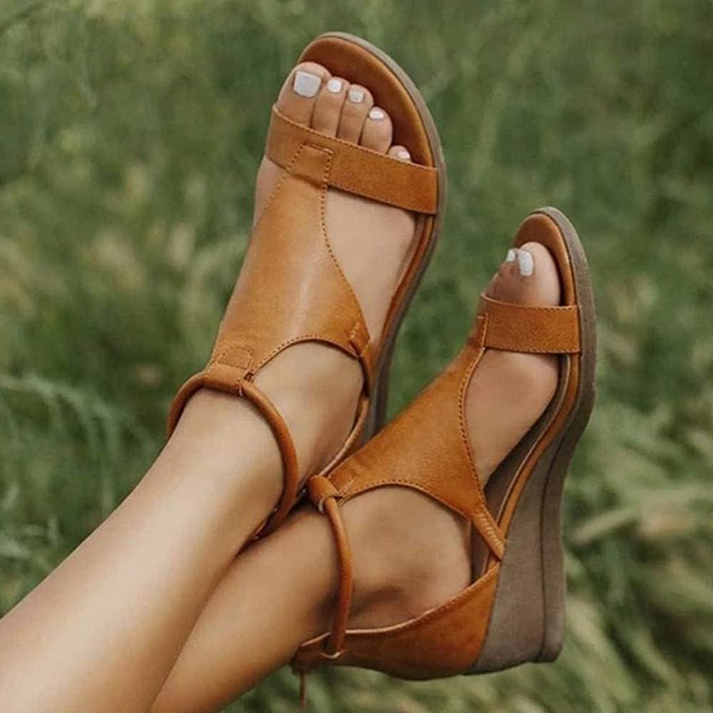 BAIYAN 2021 New 2021 Wedges Fashion S Discount is also underway Heels Women for Sandals