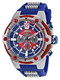25989 - INVICTA Marvel Men 53mm Stainless Steel Black Black+Blue+Red dial VD53 Quartz
