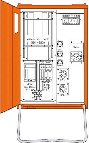 Walther Werke Anschlussverteiler 1x63/1x32/1x16/3xS WAV0160