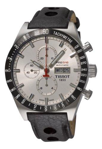 Tissot T-Sport PRS516 Reloj automático para Hombre T0446142603100 T-Sport Reloj de Pulsera con Fecha y día Plateado