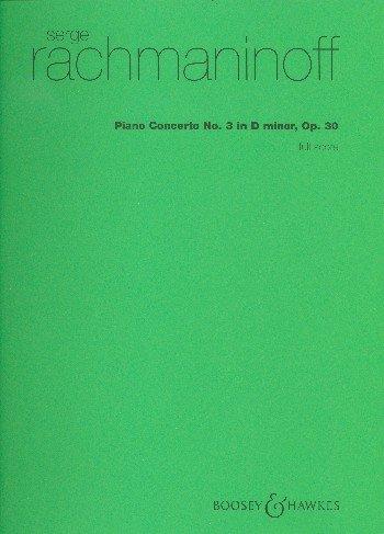 Piano Conc 3 DM Op30 Fsc (Rach)