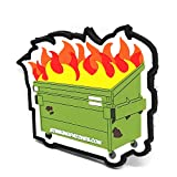 Dumpster Fire Hook and Loop Patch | PVC Rubber Tactical Patch | Funny Tactical Patch