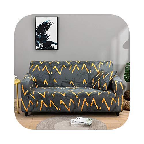 Sofa Covers - Funda de sofá de 1/2/3/4 plaza, funda de sofá elástica para salón de spandex, doble inclusivo, muebles – Color 22-3 seat 190-230 cm