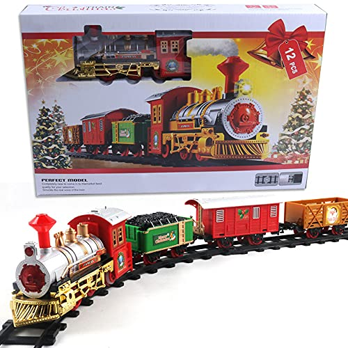 camouflage net 106 inch Christmas Train Set, Christmas...