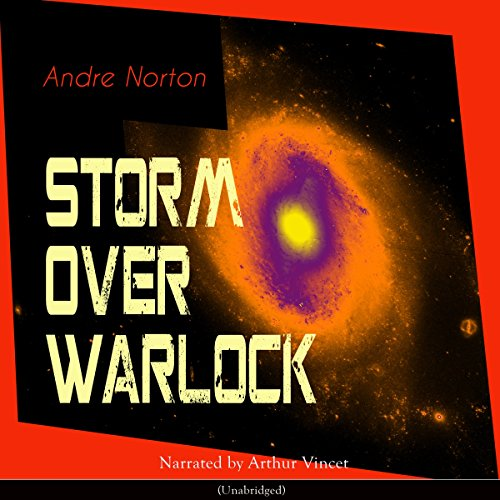 Storm over Warlock audiobook cover art
