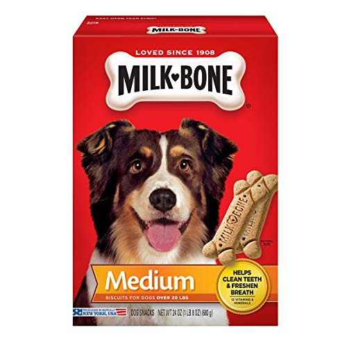 Our #1 Pick is the Milk-Bone Original Dog Pet Treats 24oz