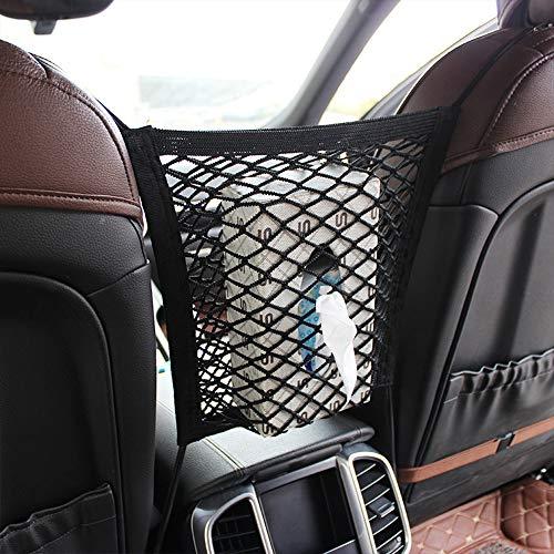 LILIGAUN Auto Trunk Bag Organiz voor het ontvangen van Mesh winkel inhoud opslag netwerk Elastische Net Bag Tussen Opslag Houder Pocket Accessoires