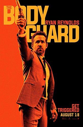 HITMAN'S BODYGUARD - REYNOLDS (2017) Original Authentic Movie Poster 27x40 - Double - Sided - Ryan Reynolds - Salma Hayek - Gary Oldman - Elodie Yung