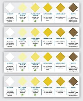 Best pee color chart Reviews