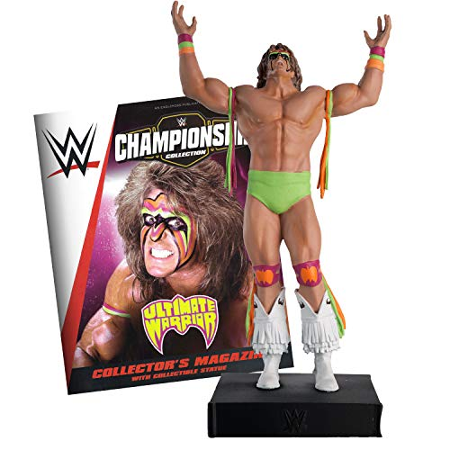Hero Collector WWE Championship Collection | Ultimate Warrior with Magazine Issue 26 by Eaglemoss