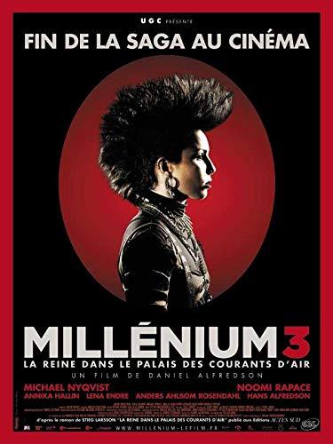 Millénium 3 - La Reine dans le palais des courants d'air [Francia] [DVD]