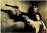 Canvas Poster Classic Nostalgic Movie Poster Leon/Fight
