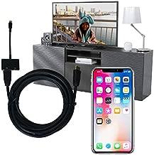 iPhone&テレビ画面を接続できるアダプター&HDMIケーブルセット 大きな部屋でも余裕の5mケーブル