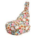 YLOVOW Sitzsack für Kinder, Faules Sofa Kreative Sitzsack Möbel, Schlafzimmer Balkon Süßes Mädchen Waschbar Boden Stuhl Kaninchen Form Design,B,L