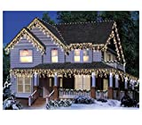 Holiday Living 300 Count Clear Icicle Lights, White Wire, 20 Feet, Style 0003752