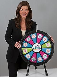 Marketing Holders 12 Slot Table Top 20 Inch Mini Prize Wheel 63007
