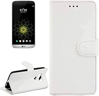Mobile phone case For LG G5 / H850 / H830 Crazy Horse Texture Horizontal Flip Magnetic Snap Leather Case with Adjustable H...