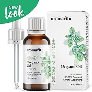 Essential Oil of Oregano - 100% Pure Undiluted, Non GMO, Extra Strength Organic Greek Oregano Oil - Over 86% Carvacrol Oregano Extract Liquid Nutritional Supplement (1 FL.OZ/30ML)
