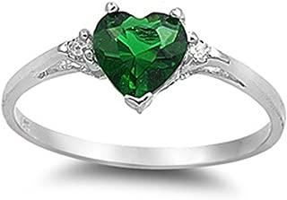 cheap emerald rings sale