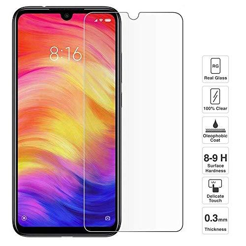 iGlobalmarket Protector de Pantalla Xiaomi Redmi Note 7 / Note 7 Pro, Vidrio Templado, sin Burbujas, Alta Definicion, 9H Dureza, Resistente a Arañazos