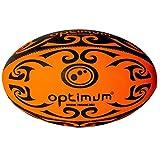 OPTIMUM Veste de Tribal Ballon de Rugby Orange Orange/Noir Size 5