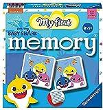 Ravensburger My first memory Baby Shark - Juego Memory, 24 tarjetas, Edad recomendada 2+ (20650)
