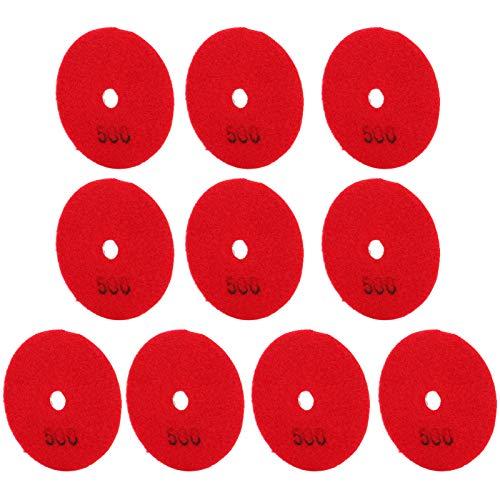 Base De Pulido, Discos De Lijado, Baldosas Cerámicas Resistentes Compactas Que Ahorran Tiempo Para Hormigón, Piedra, Mármol