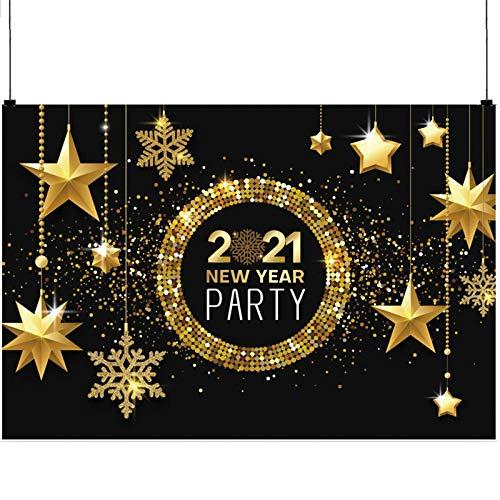 SAVITA 1.8x1.2m 2021 Fondo de Fotografía de Año Nuevo, Fon