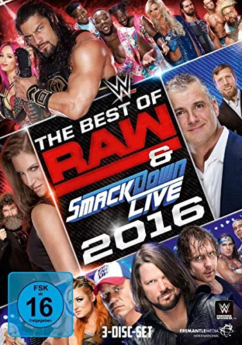 The Best of Raw & Smackdown 2016 [3 DVDs]