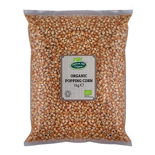 Chicchi di mais biologici popcorn da 1 kg di Hatton Hill Organic