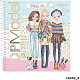 Depesche TopModel Dress Me Up 10452 - Juego de pegatinas para libro de modelos, varios colores