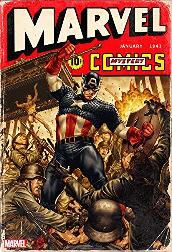 Marvel Comics #1000 Mark Brooks Captain America 1940s Decade Variant