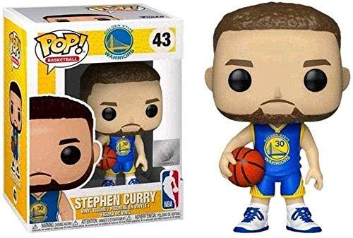 ADIS CQ ¡Popular! NBA: Stephen Curry (Camiseta Alternativa) NBA Hall of Fame Chibi Toys Coleccionable Exclusivo