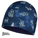 Buff M&P Kindermütze mit lustigem Camping, Marineblau, Einheitsgröße