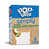Simply Pop-Tarts, Toaster Pastries, Frosted Orchard Apple Cinnamon, Non-GMO Project Verified, 13.5oz Box (8 Count)