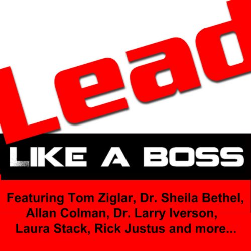 LEAD Like a Boss audiobook cover art