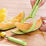 Centraliain 2 Unids/Set Melon Ballers Pelador Cocina Frutas Cortador Pelador Cuchara Melón Ballers Fancy Dig Pulp Tools Color aleatorio