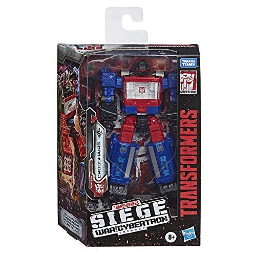 Transformers - Crosshairs Deluxe WFC-S49 (Generations War for Cybertron: Siege Deluxe Leader Action Figure da 14 cm da Collezione)