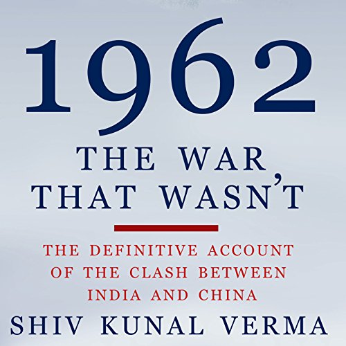 1962: The War That Wasn't audiobook cover art