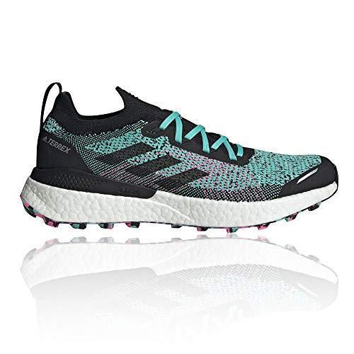 adidas Terrex Two Ultra PRIMEBLUE, Zapatillas de Trail Running Hombre, MENACI/NEGBÁS/ROSCHI, 45 1/3 EU