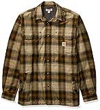 Carhartt Herren Hubbard Sherpa Lined Jac Shirt Jacket, Military Olive, L