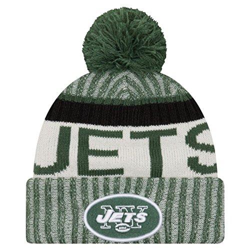 New Era NFL SIDELINE 2017 Bobble Beanie New York Jets