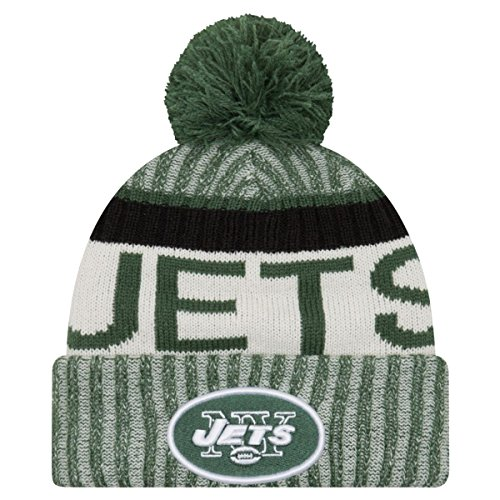 New Era NFL Sideline 2017 Bobble Mütze - New York Jets